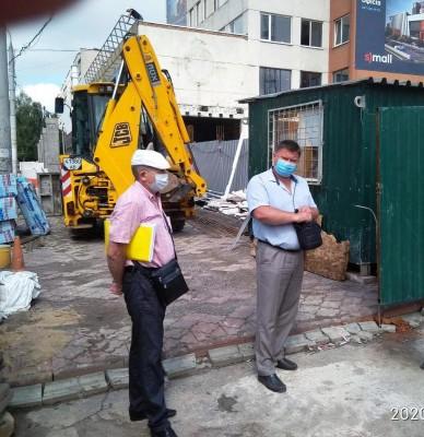 Проведено технічні консультації з працівниками піднаглядових підприємств будівельної галузі